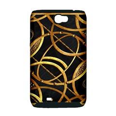 Futuristic Ornament Decorative Print Samsung Galaxy Note 2 Hardshell Case (PC+Silicone)