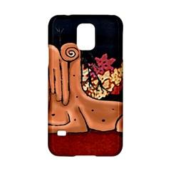 Cute Creature Fantasy Illustration Samsung Galaxy S5 Hardshell Case
