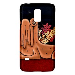 Cute Creature Fantasy Illustration Samsung Galaxy S5 Mini Hardshell Case