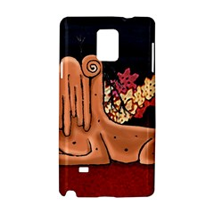 Cute Creature Fantasy Illustration Samsung Galaxy Note 4 Hardshell Case
