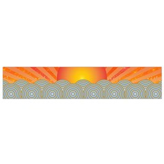 Oriental Sunset Flano Scarf (Small)