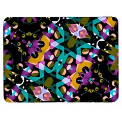 Digital Futuristic Geometric Pattern Samsung Galaxy Tab 7  P1000 Flip Case