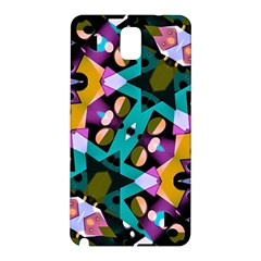 Digital Futuristic Geometric Pattern Samsung Galaxy Note 3 N9005 Hardshell Back Case