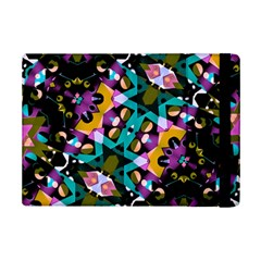 Digital Futuristic Geometric Pattern Apple iPad Mini 2 Flip Case