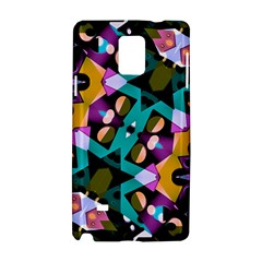 Digital Futuristic Geometric Pattern Samsung Galaxy Note 4 Hardshell Case