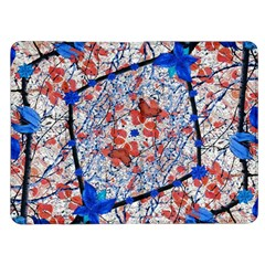 Floral Pattern Digital Collage Kindle Fire (1st Gen) Flip Case