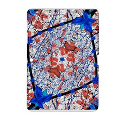 Floral Pattern Digital Collage Samsung Galaxy Tab 2 (10.1 ) P5100 Hardshell Case