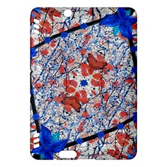 Floral Pattern Digital Collage Kindle Fire Hdx Hardshell Case