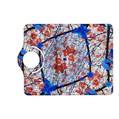 Floral Pattern Digital Collage Kindle Fire HD (2013) Flip 360 Case