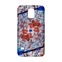 Floral Pattern Digital Collage Samsung Galaxy S5 Hardshell Case