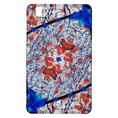 Floral Pattern Digital Collage Samsung Galaxy Tab Pro 8.4 Hardshell Case