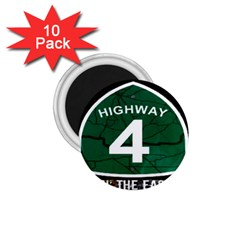 Band Logo s 1 75  Button Magnet (10 Pack)