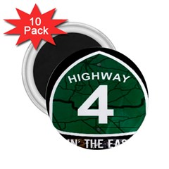 Band Logo s 2 25  Button Magnet (10 Pack)