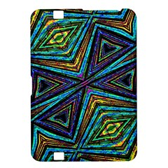 Tribal Style Colorful Geometric Pattern Kindle Fire Hd 8 9  Hardshell Case