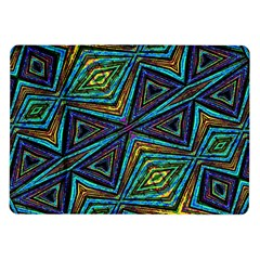 Tribal Style Colorful Geometric Pattern Samsung Galaxy Tab 10.1  P7500 Flip Case