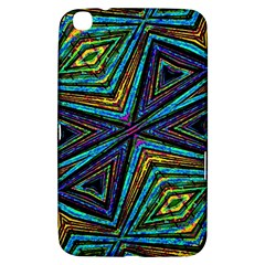 Tribal Style Colorful Geometric Pattern Samsung Galaxy Tab 3 (8 ) T3100 Hardshell Case