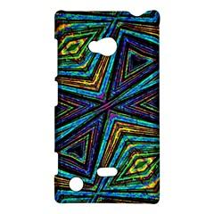 Tribal Style Colorful Geometric Pattern Nokia Lumia 720 Hardshell Case