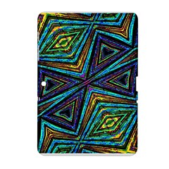 Tribal Style Colorful Geometric Pattern Samsung Galaxy Tab 2 (10.1 ) P5100 Hardshell Case