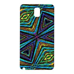 Tribal Style Colorful Geometric Pattern Samsung Galaxy Note 3 N9005 Hardshell Back Case