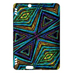 Tribal Style Colorful Geometric Pattern Kindle Fire HDX Hardshell Case