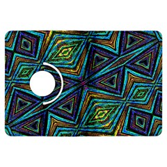 Tribal Style Colorful Geometric Pattern Kindle Fire Hdx Flip 360 Case