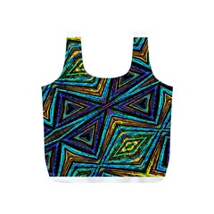 Tribal Style Colorful Geometric Pattern Reusable Bag (s)