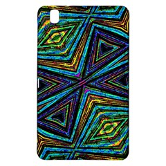 Tribal Style Colorful Geometric Pattern Samsung Galaxy Tab Pro 8.4 Hardshell Case