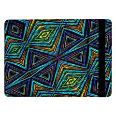 Tribal Style Colorful Geometric Pattern Samsung Galaxy Tab Pro 12.2  Flip Case