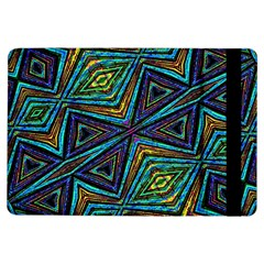Tribal Style Colorful Geometric Pattern Apple Ipad Air Flip Case