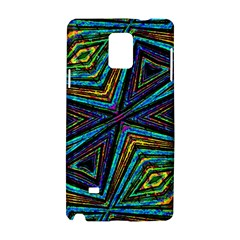 Tribal Style Colorful Geometric Pattern Samsung Galaxy Note 4 Hardshell Case