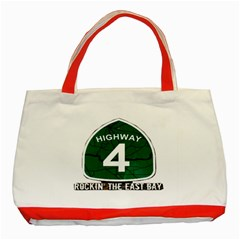 Hwy 4 Website Pic Cut 2 Page4 Classic Tote Bag (red)