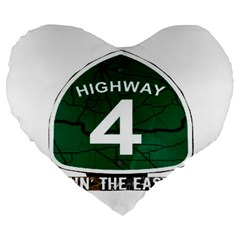 Hwy 4 Website Pic Cut 2 Page4 19  Premium Flano Heart Shape Cushion