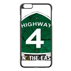 Hwy 4 Website Pic Cut 2 Page4 Apple iPhone 6 Plus Black Enamel Case