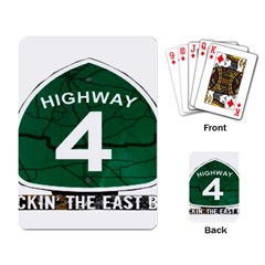 Hwy 4 Website Pic Cut 2 Page4 Playing Cards Single Design