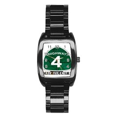 Hwy 4 Website Pic Cut 2 Page4 Stainless Steel Barrel Watch