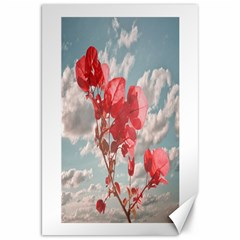 Flowers In The Sky Canvas 20  X 30  (unframed)
