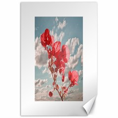 Flowers In The Sky Canvas 24  X 36  (unframed)