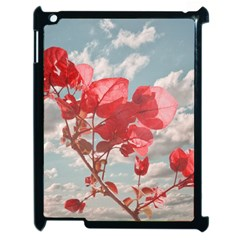 Flowers In The Sky Apple Ipad 2 Case (black)
