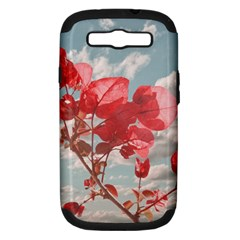 Flowers In The Sky Samsung Galaxy S Iii Hardshell Case (pc+silicone)