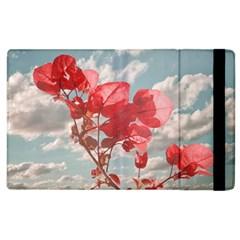 Flowers In The Sky Apple Ipad 3/4 Flip Case