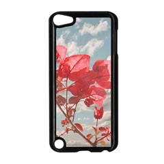 Flowers In The Sky Apple Ipod Touch 5 Case (black)