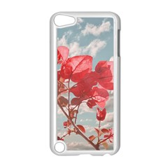 Flowers In The Sky Apple Ipod Touch 5 Case (white)