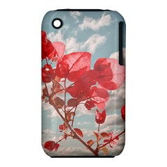 Flowers In The Sky Apple iPhone 3G/3GS Hardshell Case (PC+Silicone)