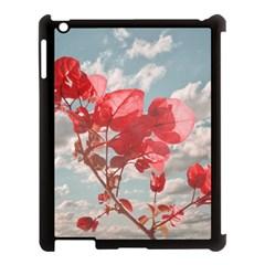Flowers In The Sky Apple Ipad 3/4 Case (black)