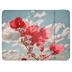Flowers In The Sky Samsung Galaxy Tab 7  P1000 Flip Case