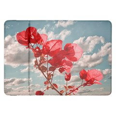 Flowers In The Sky Samsung Galaxy Tab 8.9  P7300 Flip Case