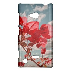 Flowers In The Sky Nokia Lumia 720 Hardshell Case