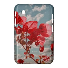 Flowers In The Sky Samsung Galaxy Tab 2 (7 ) P3100 Hardshell Case