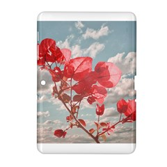 Flowers In The Sky Samsung Galaxy Tab 2 (10.1 ) P5100 Hardshell Case