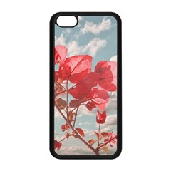 Flowers In The Sky Apple iPhone 5C Seamless Case (Black)